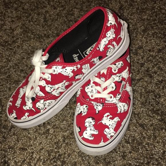 Vans Authentic Disney 101 Dalmatians shoes